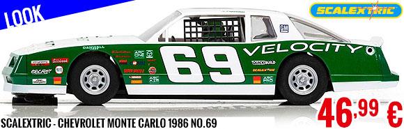 Look - Scalextric - Chevrolet Monte Carlo 1986 No.69