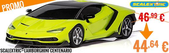 Promo - Scalextric - Lamborghini Centenario