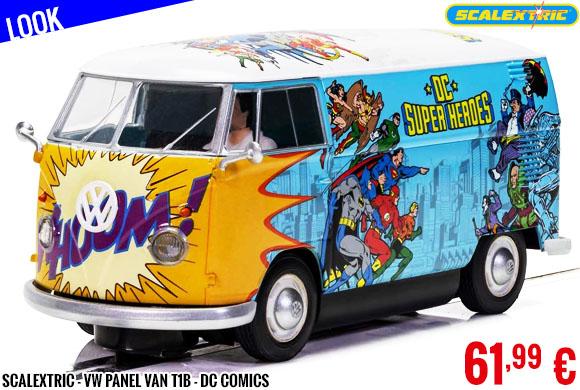 Look - Scalextric - VW Panel Van T1b - DC Comics
