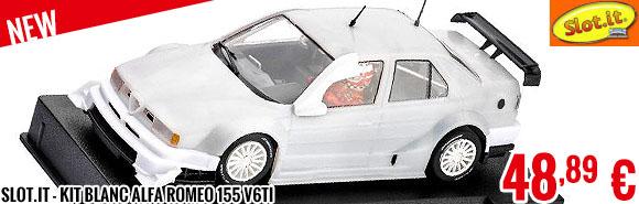 New - Slot.it - Kit Blanc Alfa Romeo 155 V6Ti