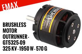 EMax Moteur Brushless outrunner - GT5325-09 (325kv - 1950w - 570g)